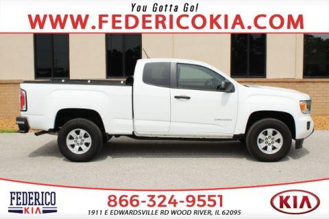 Pre-Owned 2017 GMC Canyon Base